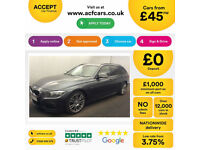 Mineral Grey BMW 318 2.0TD Touring Auto 2013 d M Sport FROM £45 PER WEEK!