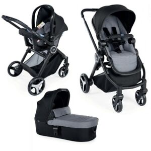 1c90db6ce51 CHICCO Trio Best Friend Light Travel System in Stone