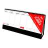 2019 Desk Top Flip Week To View Stand Up Office Home Planner Calendar WH2 : NEW