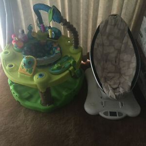 Mamaroo and also Jungle themed Exersaucer for Sale