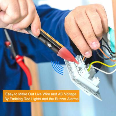 Ac 901000v Non-contact Electric Tester Detector Pen Voltage Alert Sensor Alarm