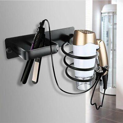 Lo spazio bagno in alluminio da parete Asciugacapelli Phon archiviazione mensola supporto RACK