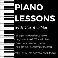 Piano Lessons for All Ages & Skill Levels w/ Carol O'Neil