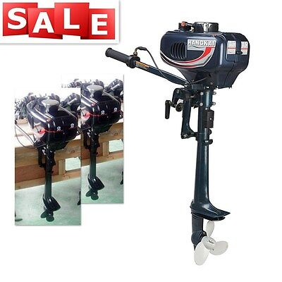 Sale! 3.5HP Outboard Motor Boat Engine 2-Stroke CDI System W/ Water Cooling US