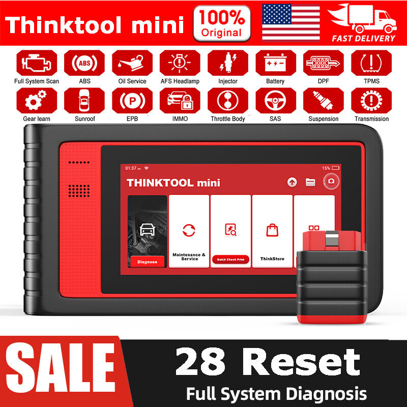 ThinkCar Thinktool Mini Scanner Automotive All System All Reset Diagnostic 2021