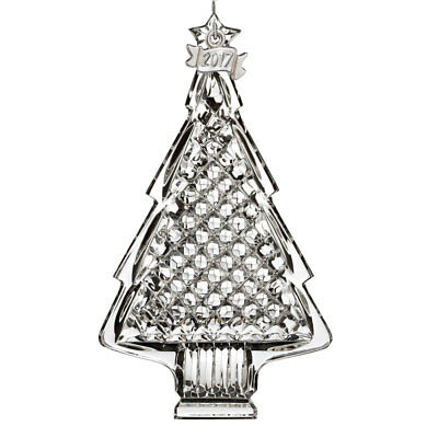Waterford Crystal 2017 Annual Christmas Tree Knick-knack # 40023166 New