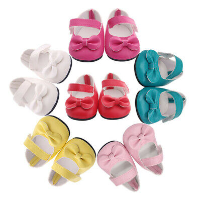 Best Selling Handmade Bow Shoes For 18-inch American Girls Fashion Doll