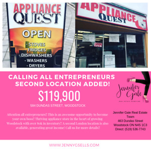 Calling all entrepreneurs!!! 2 Locations!