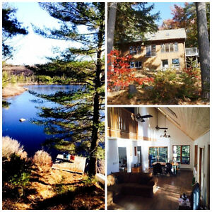 Muskoka Waterfront Cottage on Bird Lake/  11.35 Acres