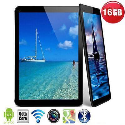 7'' 16GB A33 Quad Core Dual Camera Android 4.4 HD Tablet WIFI Pad EU Black