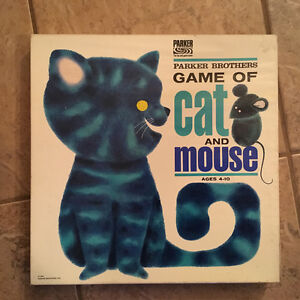 Cat and mouse Parker Brothers 1964