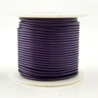 20 Awg Gauge Solid Violet 300 Volt Ul1007 Pvc Hook Up Wire 100ft Roll 300v