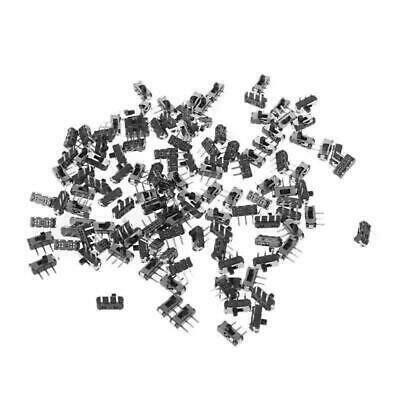 25 Pcsset Msk-12d19 G2 Spdt 1p2t Smd 3 Pin Pcb Panel Horizontal Slide Switch