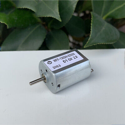 Ff-130sh Mini 20mm Metal Brush Electric Motor Dc 6v-24v 12v 5400rpm 2mm Shaft