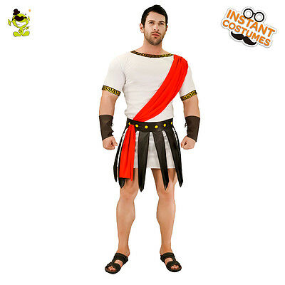 Popular Men Roman Gladiator Spartan Greek Warrior Costume Cosplay Party  (Popular Costumes For Men)