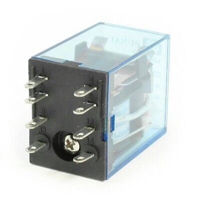 Hh52p Ac 110120v Coil Dpdt 8-pin 8p Electromagnetic Power Relay N9r5