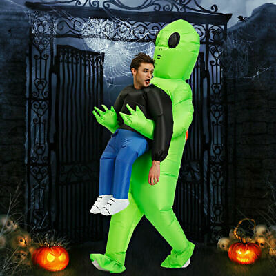 Halloween Kostüm Alien Pick Me Up Monster Aufblasbare Blow Up Anzüge Party Anzug