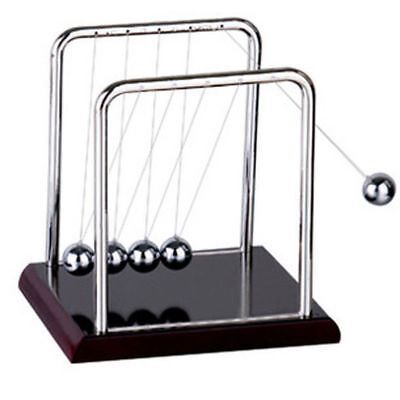 Newton Cradle Steel Balance Ball Physics Science Pendulum Gifts Desk Decor Toy