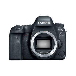 Canon 6Dii with dual Pixel (full frame) + 5D iv grip