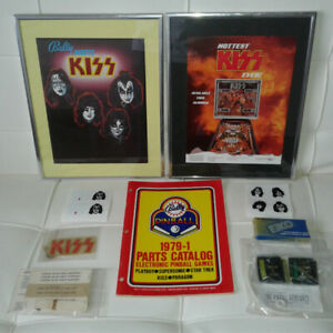 KISS PINBALL MACHINE ITEMS