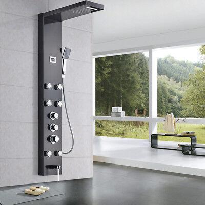 Shower Screen Massage Shower Set ABS Hand shower Multi-function Shower Faucet ()