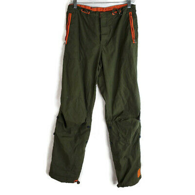 Abercrombie + Fitch Women's Size Small Pants Military Green Convertible Cropped