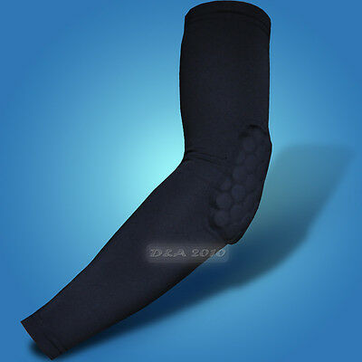 Child Honeycomb Pad Crashproof Basketball Shooting Arm Sleeve Elbow Support