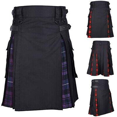 NEU Herren Rock SCHOTTE Kleider Plaid Traditionelle Kostüm Kilt Dress - Herren Kilt Kostüm