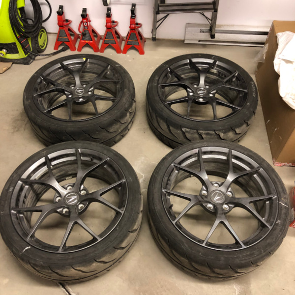 Acura NSX Forged Front Wheels A Set 19 Inch