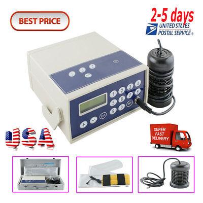 <USA>Best Detox Cell Ion Ionic Aqua Foot Bath SPA Cleanse Machine Fir Belt