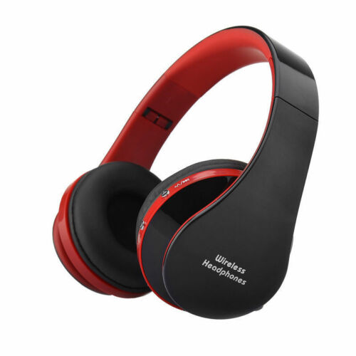 Foldable Wireless Bluetooth Headset Stereo Headphone For All Phone Tablet Laptop