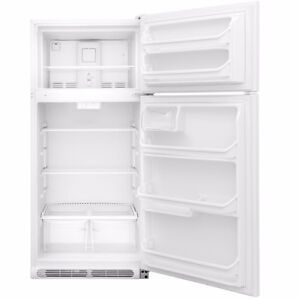 FRIGIDAIRE 18 CU FT NEW WITH WARRANTY BOUGHT LARGER ONE