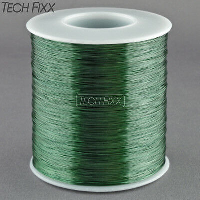 Magnet Wire 28 Gauge Awg Enameled Copper 1750 Feet Coil Winding 155c Green