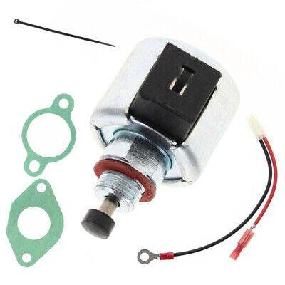 Fuel Shut Off Solenoid Kit For Kohler CV12 CV12.5 CV13 CV14 CV15 CV16 Engine