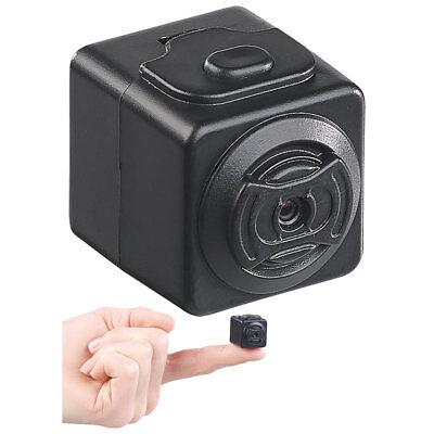 Somikon Ultrakompakte HD-Videokamera mit Bewegungs-Erkennung, Magnet-Halterung Kompakte Video-kamera