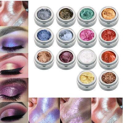 Glitzer Schimmer (Schimmer Eyeshadow Puder Makeup Glitzer Lidschatten Metallic Augen Kosmetik)