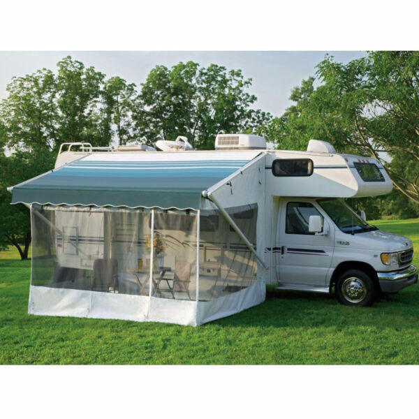 RV Dometic 935000.120 White Standard Patty O'Room Awning ...