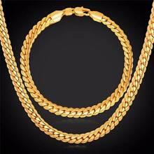 18K Real Gold Plated Set/ 18K Platinum Plated Set - 6 mm Sydney Region Preview