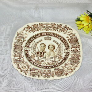 KING GEORGE VI ROYAL VISIT TO CANADA 1939 COLLECTOR PLATE
