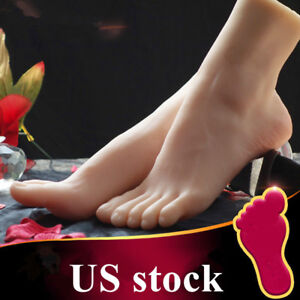 7be01862930 Female Feet Shoes Displays Model Legs Lifelike Mannequin One Left Or Right  US