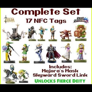 Zelda amiibo tag deal ALL 17 FOR $50 FLAT