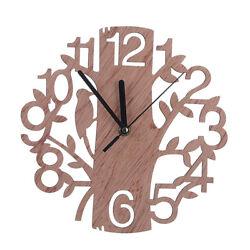 3D DIY Wall Clock Modern Tree Design Watch Living Room Home Decor Time USA