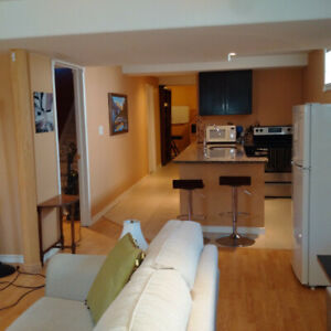 Executive apartment, close to CFB, perfect for IR personnel.