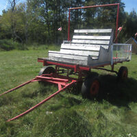 Horse or Tractor Wagon