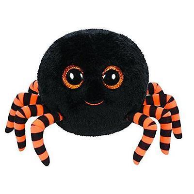 TY Beanie Boos 15cm Glubschi Crawly Halloween Spinne Orange Stofftier Plüschtier