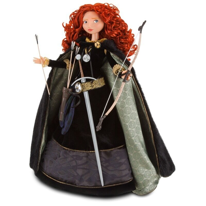 Disney Princess LIMITED EDITION BRAVE MERIDA Doll with Certificate (Brand NEW)