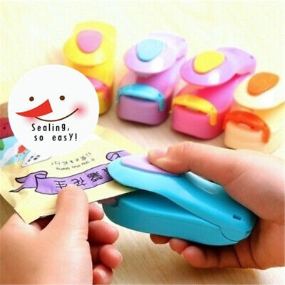 Portable Air Tight Sealing Tool Heat Mini Handheld Plastic Bag Resealer Sealer