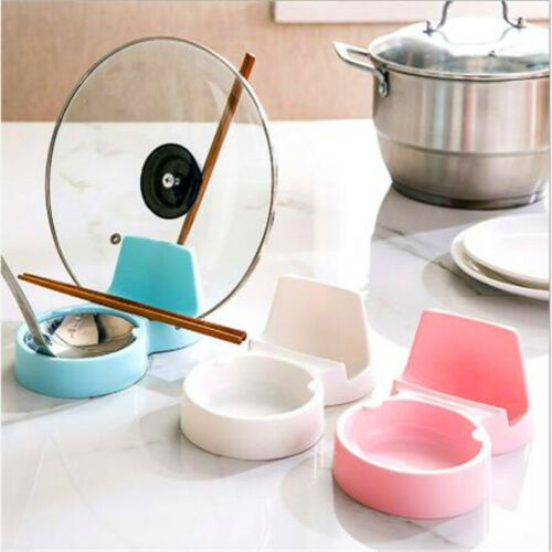 Pot Lid Holder Spoon Rest Pan Cover  Drying Stand Rack Organ