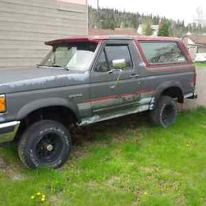 1991 Ford Bronco SUV, Crossover