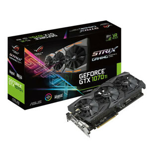 Asus Geforce GTX 1070ti 8gb PCIE Video Card